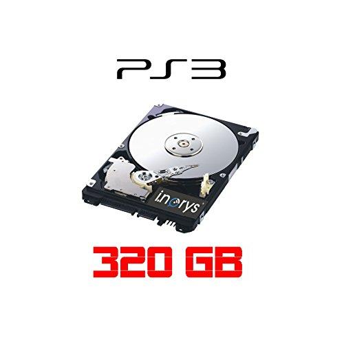 i.norys 320GB Festplatte für SONY Playstation 3, ALLE Baureihen inkl. PS3 SLIM