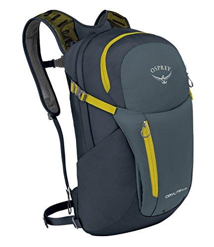 Osprey Daylite Plus Nylon Negro / Gris, Amarillo mochila - Mochila para portátiles y netbooks (Nylon, Negro / Gris, Amarillo, Monótono, Unisex, Cremallera, 260 mm)