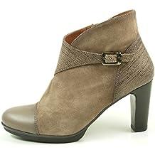 HispanitasAmberes HI63891 Botines de cuero para mujer Ankle Boots