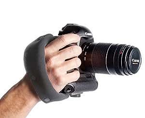 OP/TECH E-Z Grip Hand Strap - Black