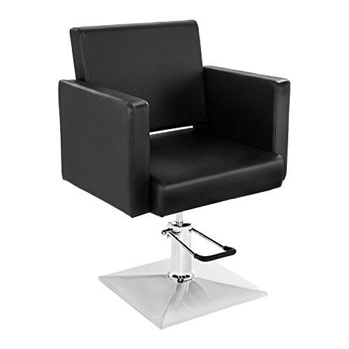 Physa salerno sedia barbiere sedia parrucchiere poltrona barbiere (altezza 45–56,5 cm, girevole)