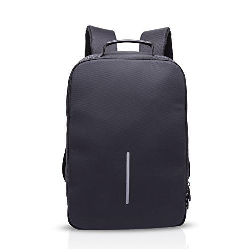 FANDARE 2018 Antifurto Zaino della Scuola Notebook Portatile Laptop 15.6 Pollici Schoolbag Viaggio Borsa USB Port Polyester