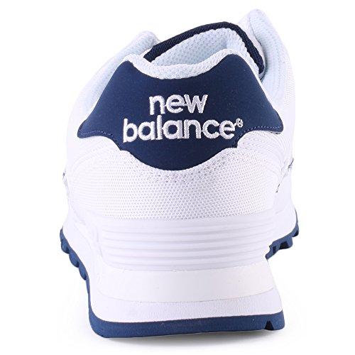 New Balance Lifestyle, Scarpe da Ginnastica Uomo White Navy