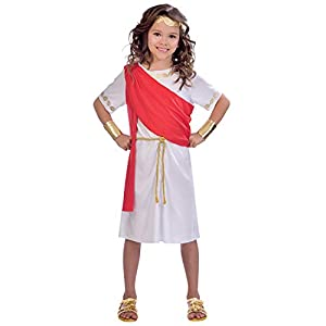Amscan International- Toga Girl 10-12 Years Disfraz, Color (9904462)
