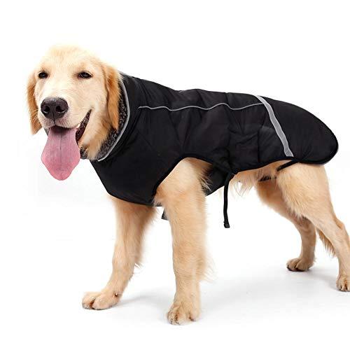 Libeauty Haustier-Kleidung Winter-warme Verdickte Winter-Jacken-Weste Anti-Spritzen Reflektierende ()