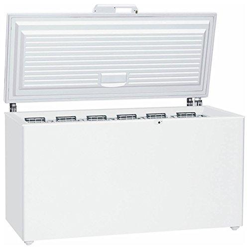 Liebherr GTP 4656Premium autonome Premiumqualität 419L A + + + Weiß-Tiefkühltruhen (Premiumqualität, 419L, 38kg/24h, sn-t, A + + +, Weiß)