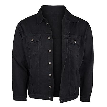 Jeansjacke Herren schwarz