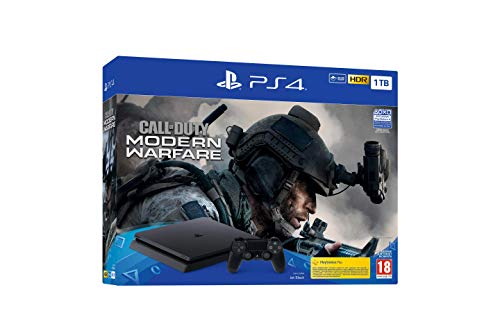 PS4 Black 1TB + Call of Duty: Modern Warfare - Bundle