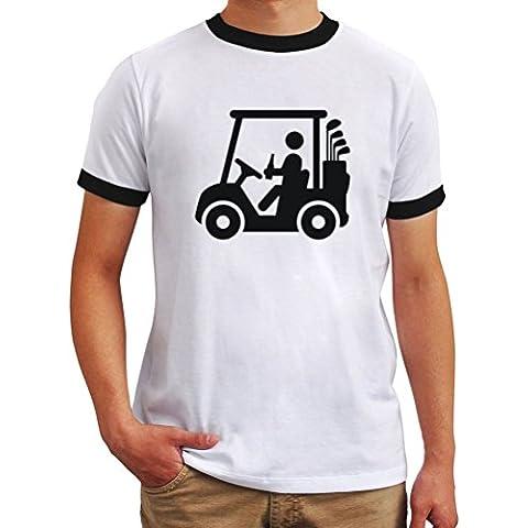 Maglietta Ringer Golf cart