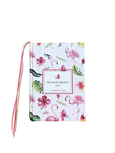 Kalender 2019, Taschenkalender 2019, Planer 2019 DIN A5 (Flamingos daily edition) UVP 29,90 EUR