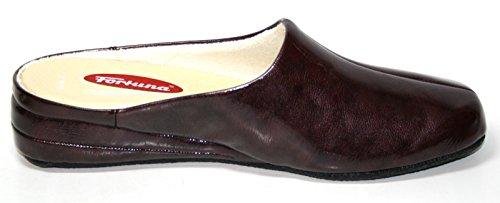 Fortuna - Pantofole Donna Rosso (Rot (bordo/vino 116))