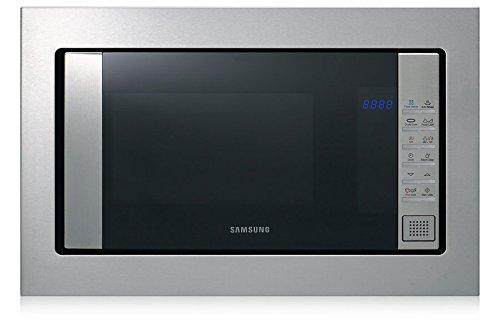 Samsung fg87sust integriertem 23L 800W Edelstahl Mikrowelle–Mikrowelle (integriert, 23l, 800W, Oberfläche, edelstahl, Knopf) (Mikrowelle Edelstahl Samsung)