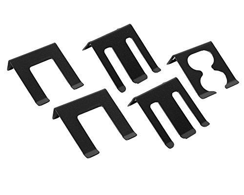 Ondis24 Lochwandhaken,22 - teilig, Hakensortiment Werkzeuglochwandhaken Metall , grau - 6