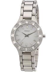 DKNY Damen-Armbanduhr XS Analog Quarz Edelstahl NY8485