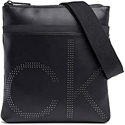 Calvin Klein CK Up Flat Crossover Black