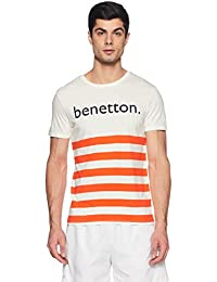 United Colors of Benetton UCB Men's Striped T-Shirt