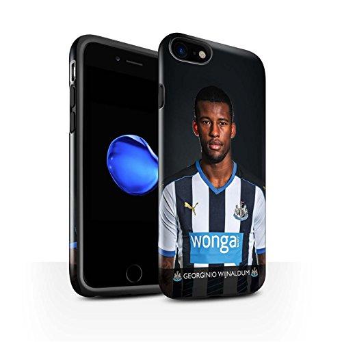 Officiel Newcastle United FC Coque / Brillant Robuste Antichoc Etui pour Apple iPhone 7 / Shelvey Design / NUFC Joueur Football 15/16 Collection Wijnaldum