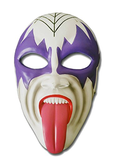 Crazy Genie Halloween Maske Classic Collection Masquerade Kostüm-Partei Cosplay Harz maske (Tongue)
