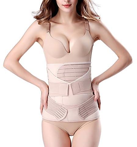 Chongerfei - Ceinture de grossesse spécial grossesse - Femme beige beige Large - beige - XXXX-Large