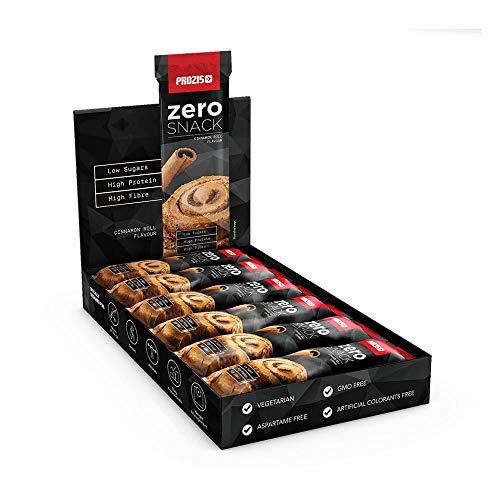 Prozis Zero Snack - Barra rico en proteína y Bajo en Hidratos d