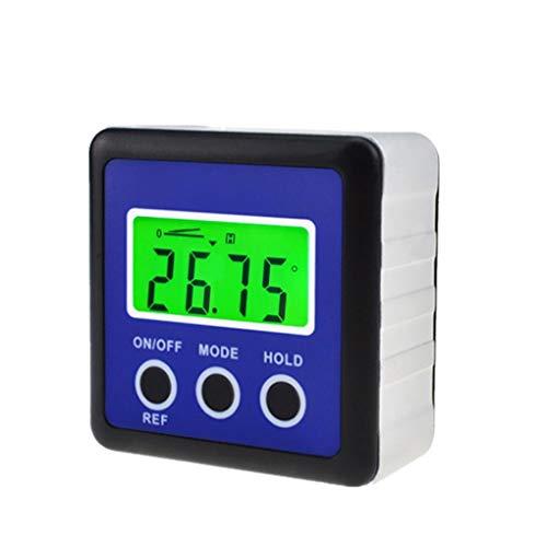 Masterein Mini Digital Ebene Inclinometer Winkelmesser Winkelmesser Clinometer DREI Tasten Display Screen Gradienter