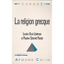 La Religion Grecque Cursus