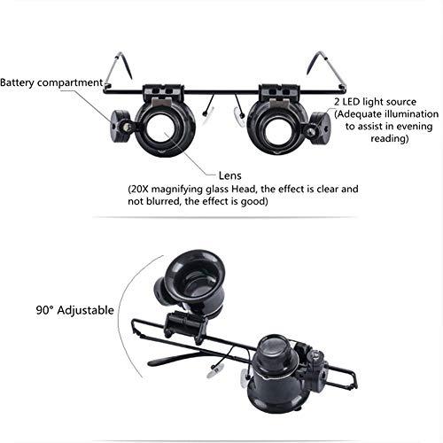 Zoom IMG-3 lente d ingrandimento 20x binocular