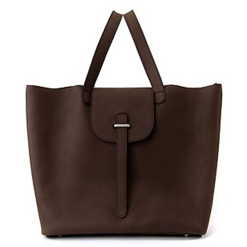 Violett - MELRANEY Sac shopper marron fonce