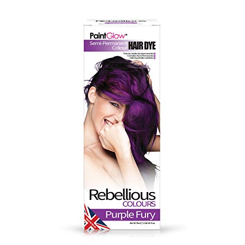 PaintGlow   Tintura semi permanente per capelli viola scuro 70 ml