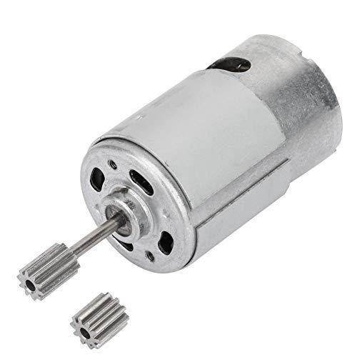 6V RS550 Motor Engranaje Alto Torque Eléctrico Micro