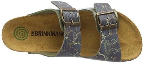 Dr. Brinkmann 700849, Chaussures de Claquettes femme Vert - Vert