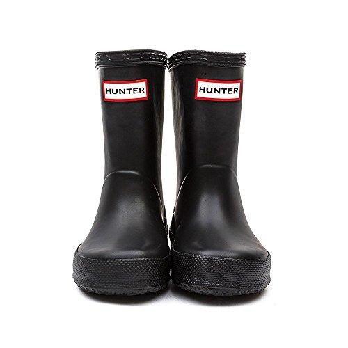 Hunter Bottes en Caoutchouc Bottes Première Noir–Hauteur Enfants Bottes en caoutchouc pour femme Noir - noir