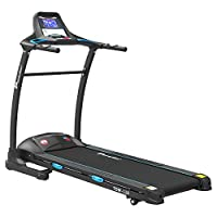 Powermax Fitness TDM-110 2 HP (4 HP Peak) Motorized Treadmill - Free Installation Service - 3 Years Motor Warranty - with 7.2 inch Vivid LCD Color Display