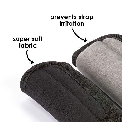 Diono 60250 Soft Wraps, Autositze Zubehör, schwarz - 2