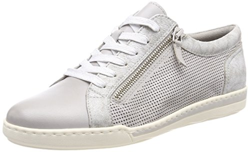 Tamaris 23619, Baskets Basses Pour Femme, Gris (cloud Comb)