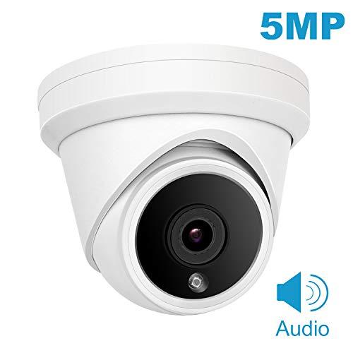 Hikvision Compatible Cámara domo IP 5MP Anpviz POE