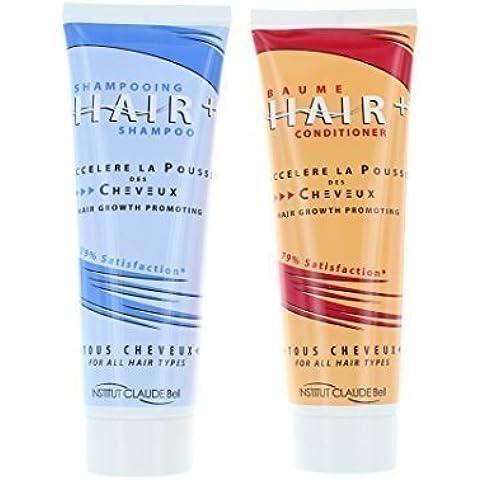 HairPlus Shampoo Balsamo (2x 250ml) - Prodotto per accelerare la