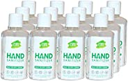 NATURAL LIFE FDA Approved Citrus Hand Sanitizer Small, 110 ml - Sanitizer Combo (Pack of 12)