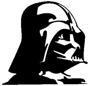 STAR WAR Darth Vader Red rotRub-On Sticker AufkleberDisney Officially Licensed Movie & TV Artwork, 5.5