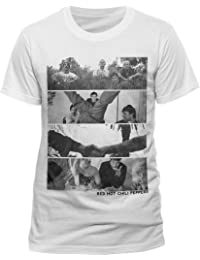 Collectors Mine Herren T-Shirt Red Hot Chili Peppers-Spliced Photo