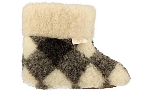 Pecore Gitter Ggr 100 Pantofole Lana Calde Con Naturali Le Fatte qwHCwXz