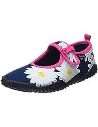 Playshoes Zapatillas de Playa con Protección UV Flor de Margarita, Zapatos de Agua Unisex niños