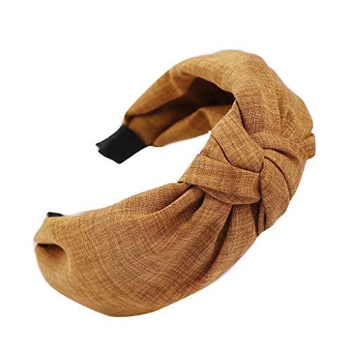 CANDLLY Stirnbänder Damen, Mode Damen Mode Bowknot Stirnband Frauen Haar Kopfband Einfache Süße Mädchen Haar Stirnband Kopfschmuck