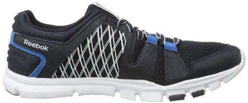 Reebok YOURFLEX TRAIN RS 4.0 V59055, Scarpe da atletica leggera Uomo Multicolore (Mehrfarbig (REEBOK NAVY/CONRAD BLUE/WHITE/DREAMY BLUE))