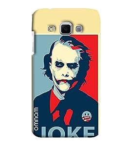 Omnam Joker Face Printed Designer Back Case Samsung Galaxy J3