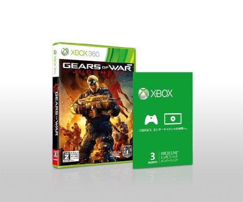 Gears of War Judgment [Xbox Live Gold Membership Bundle] [Importación Japonesa]