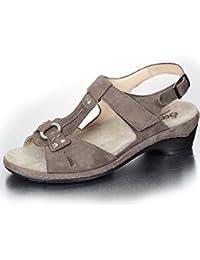 Semler HEIDI H2115653028 Damen Sandalette, Beige 38 EU