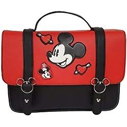 Mickey Mouse Disney Mochila Estilo Bolso de Mano