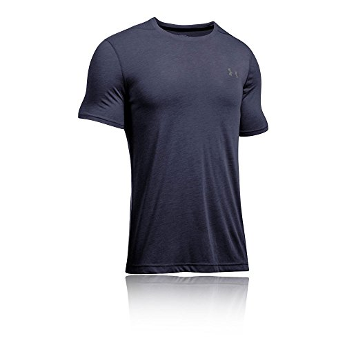 Under Armour – Ua Tech SS Tee Fitness T-Shirts & Tanks, Uomo, Dunkelblau, S