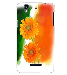 PRINTSWAG FLOWERS Designer Back Cover Case for MICROMAX YU YUREKAPLUS PLUS